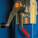 Aero Economy Easy Cover | Ground Level Hand Crank Control Box