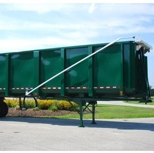 Aero Easy Cover Model 450 and 550 on a steel dump trailer