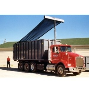 Donovan HY-Tower SL Armless Tarping System for Roll-Off Trucks