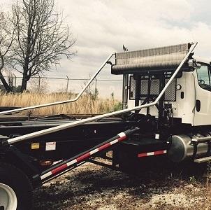 Donovan Quick Flip III Multi-Axle for roll off trucks