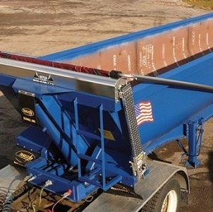 Mountain Tarp, top mount flip tarp system to southern specification