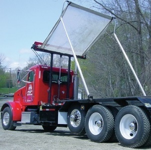automatic roll-off tarp system