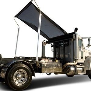 Pioneer HR1500H Tuff Tarper for single axle roll-off trucks