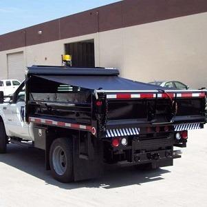 Mesh Dump Truck Tarp