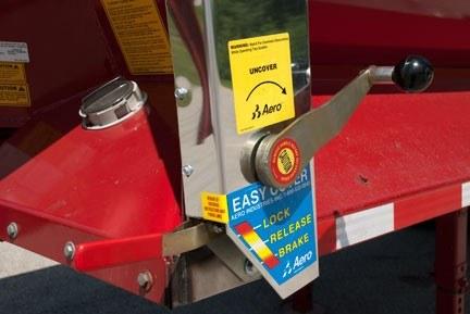 Aero Easy Cover Models 485 585 Flange Mount Springs