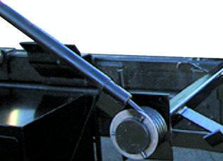 Pioneer Tuff Tarper HR1500 swing arm spring assembly.