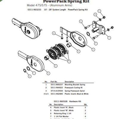 Aero Power Pack Side Mount Spring