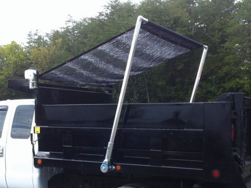 Donovan Flash flip tarp system with straight arms