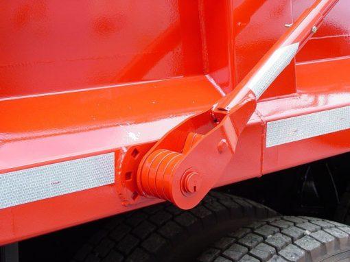 Donovan Hammer flip tarp system 4-spring side mount assembly