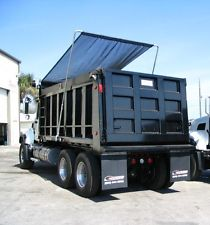 TSI Stealth system installed on a tandem axle dump truck.