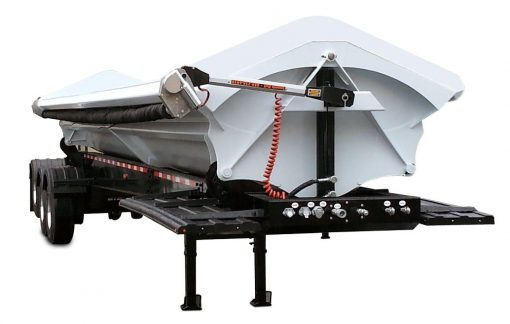 Mountain Tarp, Smooth Roll Side Dump Tarp System