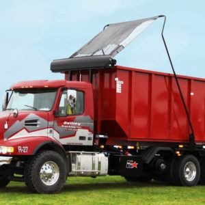 Pioneer HR2500, Power Glide System on a multi-axle roll-off truck