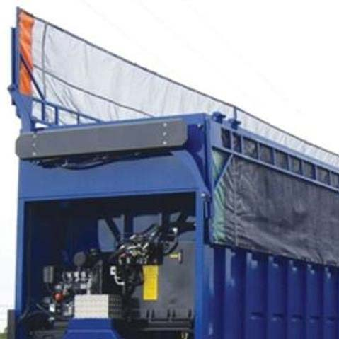 Refuse Truck Tarp Systems