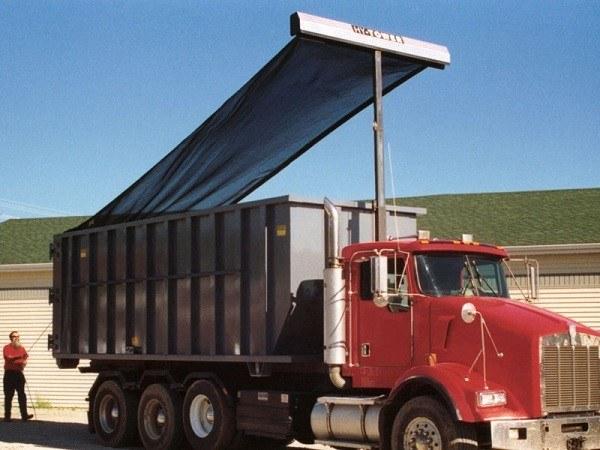 Refuse Truck Tarp Systems