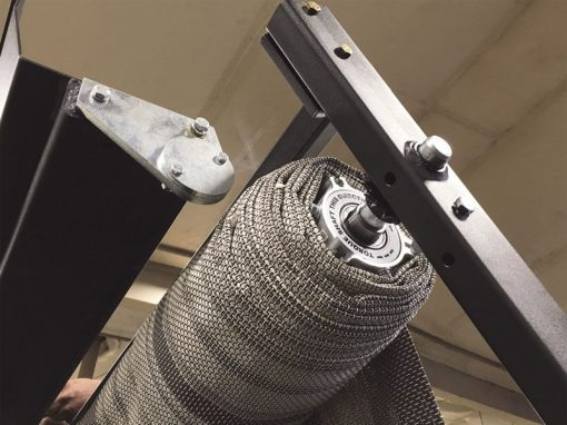 Donovan SWAT Roller Bar Assembly and Mighty Mesh Tarp