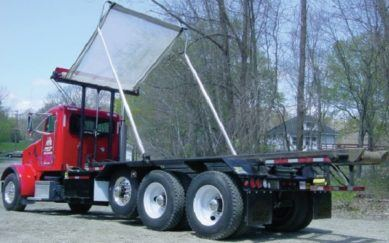 Waste – Refuse Tarp Systems for Roll-Off Trucks and Transfer Trailers