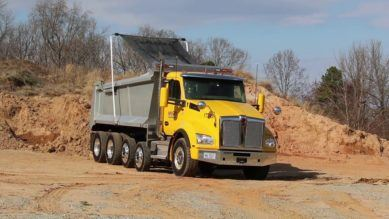Industrial Dump Truck Tarp Systems
