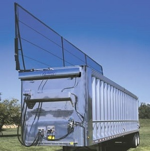 Aero Lid II, Automatic Tarping System for Transfer Trailers
